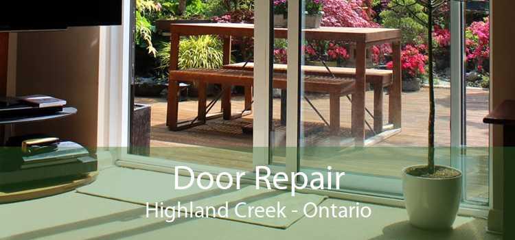 Door Repair Highland Creek - Ontario