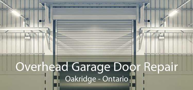 Overhead Garage Door Repair Oakridge - Ontario